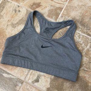 Nike M Gray Sports bra